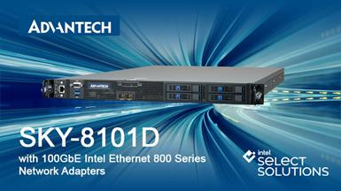Advantech Server will be Verified as Upgraded Intel Select Solution for NFVI Forwarding Platform to Improve Performance for Next Gen 5G Networks