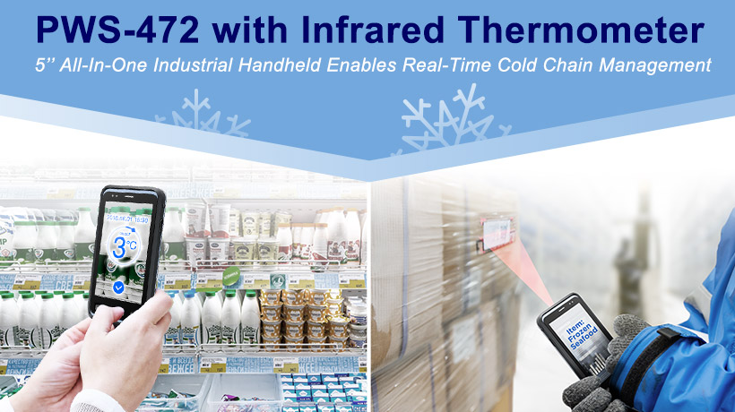 PWS-472 with Infrared Thermometer
