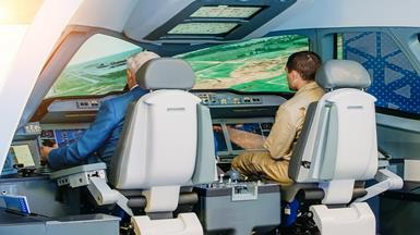 High-Performance Computing System for Simulator Training System