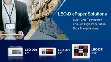 【New Product Announcement】LEO-D ePaper Solutions with Sub-1GHz Technology for Real-Time Content Management