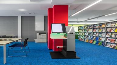 Automated Self Loan KIOSKs Smarten up Libraries