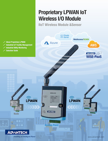 Proprietary LPWAN IoT Wireless I/O Module