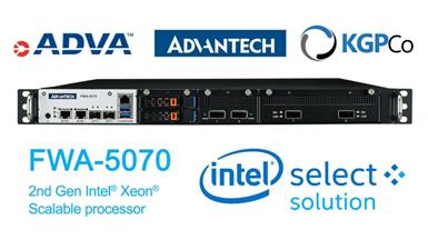 Advantech Announces Intel Select Solutions for uCPE to Address High-end Enterprise Networking Demand