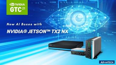 Advantech Launches Edge AI Boxes Embedded with NVIDIA Jetson TX2 NX, Will Present Smart City and Healthcare Success Stories at GTC 2021