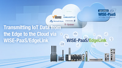 Realize Industrial IoT with Data Management via WISE-PaaS/EdgeLink