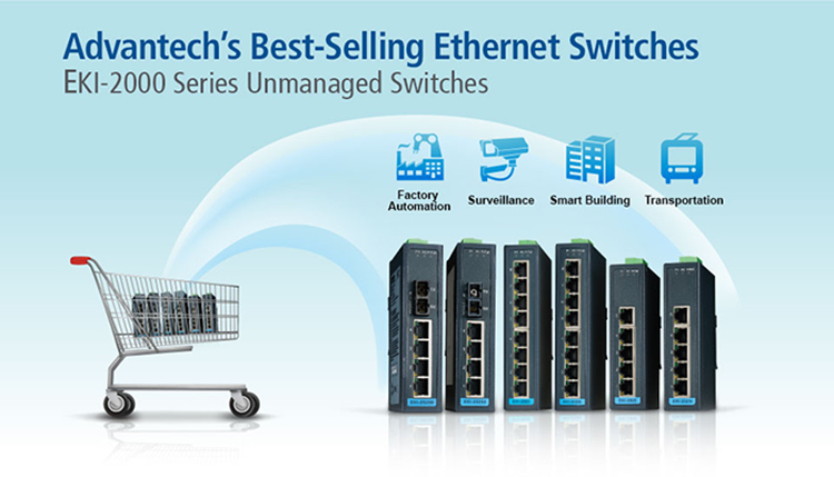 Advantech's Best-Selling Ethernet Switches
