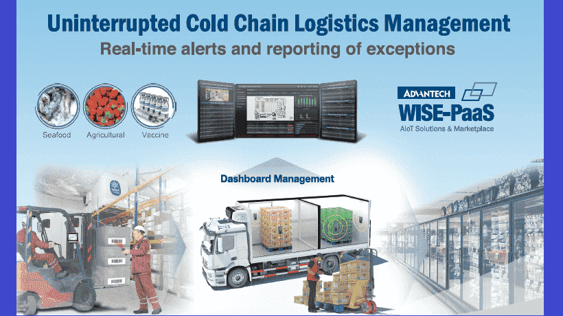 Advantech's Uninterrupted Cold Chain Management Solution: Ensuring Optimal Food Safety