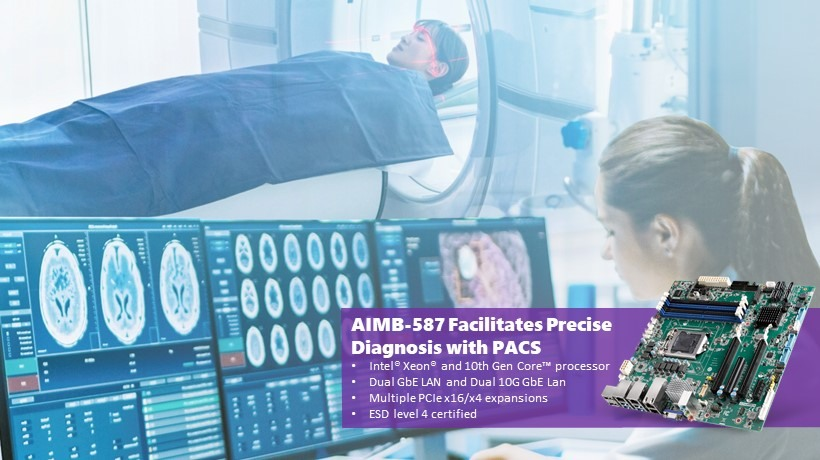 Advantech AIMB-587 Facilitates Precise Diagnosis with PACS