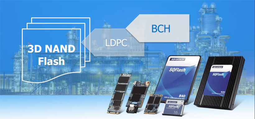 3D NAND Flash with Advanced ECC Technology for Industrial Application