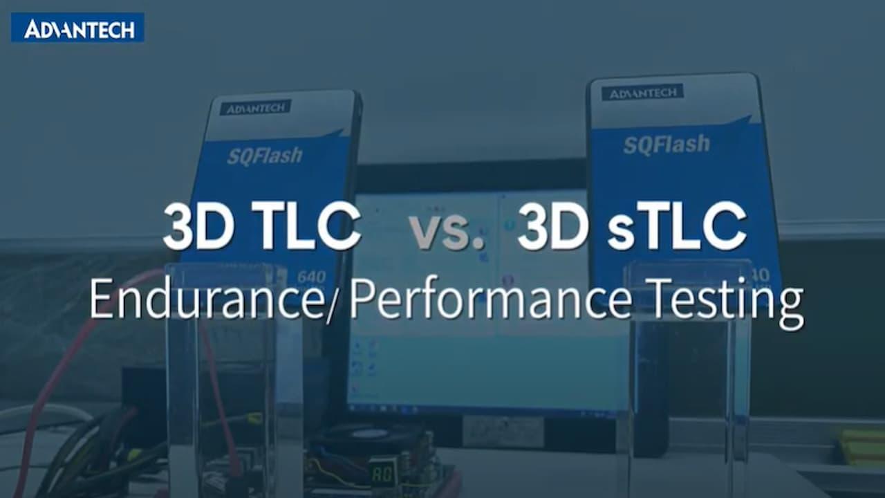 SQFlash Endurance Test- 3DTLC vs. 3D sTLC SSD