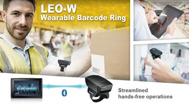 【New Product Announcement】LEO-W Wearable 1D Barcode Scanner Ring for Workflow Optimization