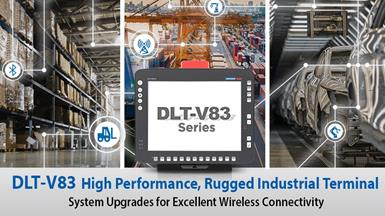 Advantech's DLT-V83 Rugged Industrial Terminals Now Support IEEE 802.11ac, LTE, and Bluetooth 4.2 for Superior Connectivity and Data Transmissions