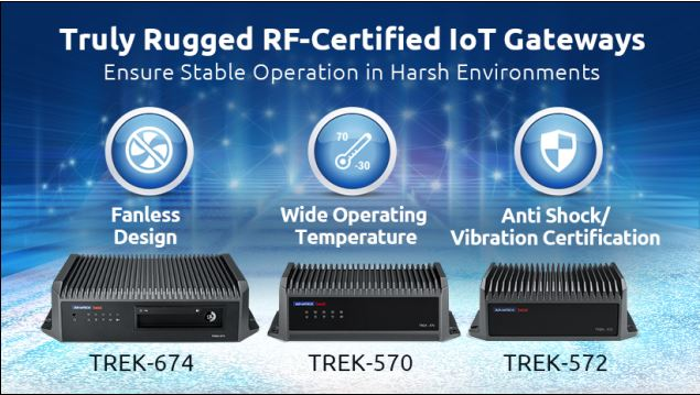 Truly Rugged RF-Certified IoT Gateways
