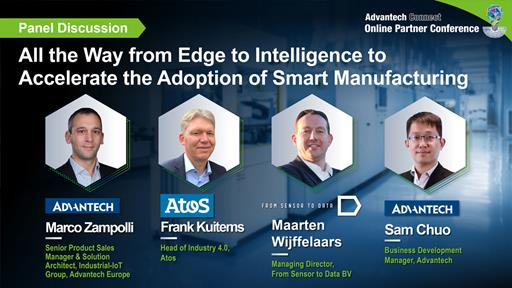All the Way from Edge to Intelligence to Accelerate the Adoption of Smart Manufacturing