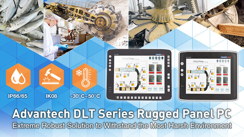 Advantech DLT Series Rugged Panel PC