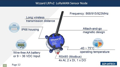 WISE-6610-E500 - LoRaWAN Gateway support up to 500 nodes
