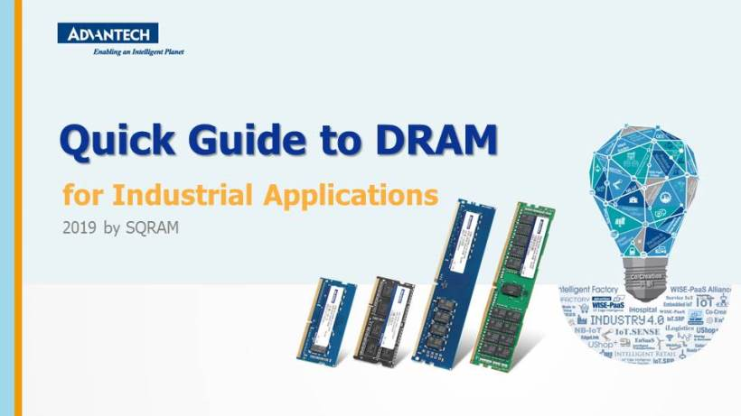 Quick Guide to DRAM by SQRAM