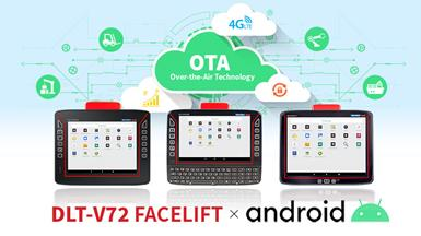 Advantech's DLT-V72 Facelift Series VMTs Now Support  Android 9 with OTA Updates for Enhanced Device Management