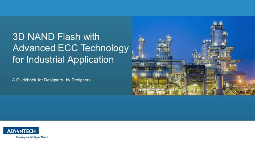 3D NAND Flash with Advanced ECC Technology for Industrial Applications