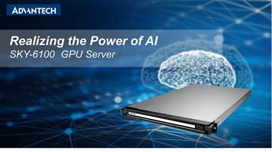 Advantech SKY-6100 Scalable GPU Server Optimized for AI at the Edge with NVIDIA EGX and NGC