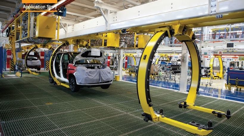 Driving the Automotive Industry Forward with Complete Smart Factory Solutions