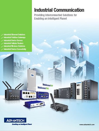 Advantech 2019 ICG Industrial Communication Brochure