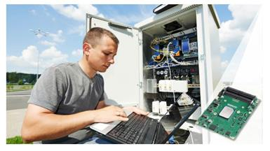 Type7 COM Express Modules make scattered outdoor workstations more reliable and easier to manage