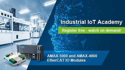 Introduction to AMAX-5000 and AMAX-4800 EtherCAT IO Modules