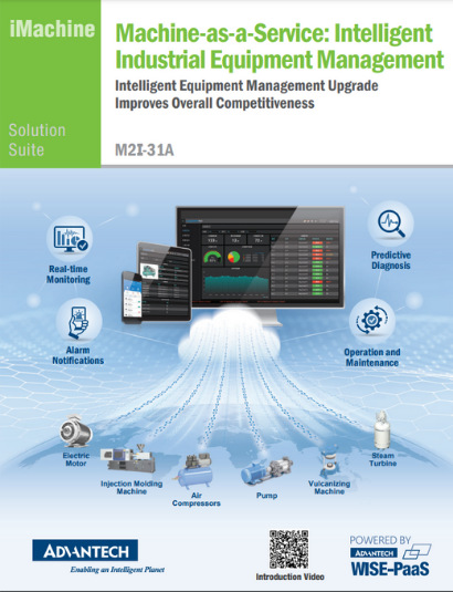 Machine-as-a-Service: Intelligent Industrial Equipment Management