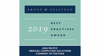 "Advantech Wins Frost & Sullivan's 2019 Asia-Pacific Medical Computing Solutions ""Company of the Year"" Award"