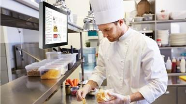 Fast-Food Chain Improves Operational Efficiency with Advantech's Kitchen Display System