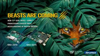 "Advantech Releases New MIO-5375 3.5"" and MIO-2375 Pico-ITX SBCs to Accelerate AI-Native Design"