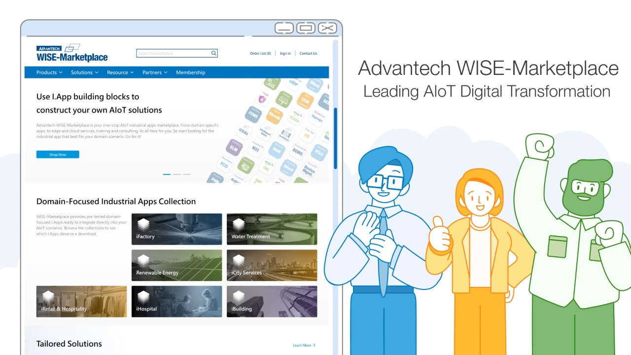WISE-Marketplace, Using I.App Building Blocks to  Construct Your Own AIoT Solutions