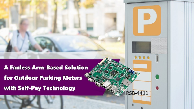 A Fanless Arm-Based Solution for Outdoor Parking Meters with Self-Pay Technology