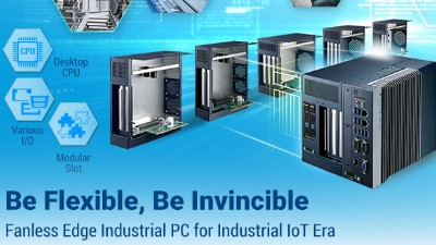 Fanless Edge PCs for the Industrial IoT Era
