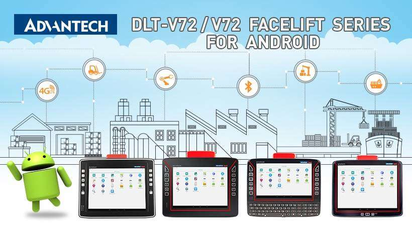 Maximize Productivity with DLT-V72 / V72 FACELIFT Series for Android