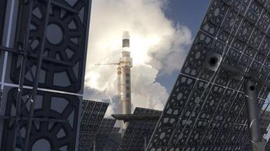 The World is Watching! China Builds Its First Hundred-Megawatt Molten Salt Solar Thermal Power P...