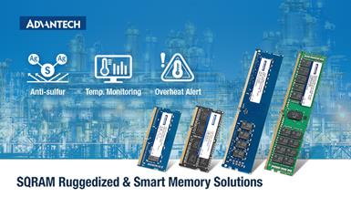 Advantech SQRAM Expands Lineup of Ruggedized and Smart Memory Solutions for Embedded & IoT Applications