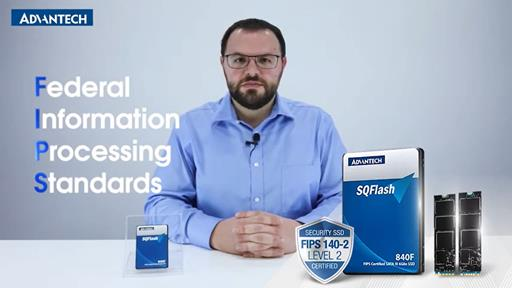Advantech FIPS SQFlash Secure Product Introduction & Highlights