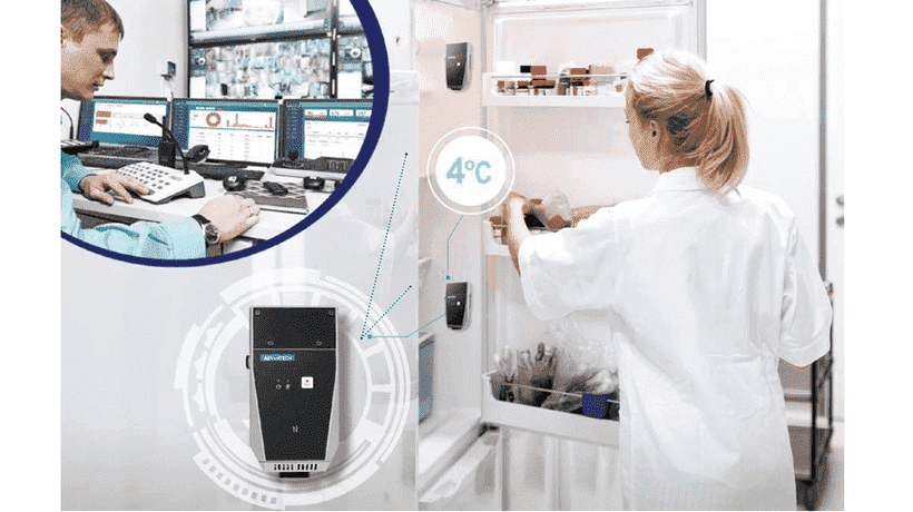 Advantech's Cold Chain Management Solution Ensures the Quality of Vaccines, Medicines, and Blood Bags
