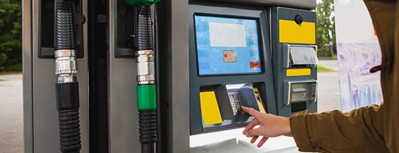 Smart Self-Service Gas Station Kiosks