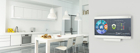 Smart Home Interface for Application Control