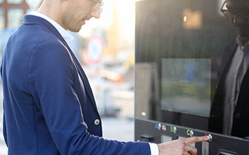 Self-service Ticketing Kiosk