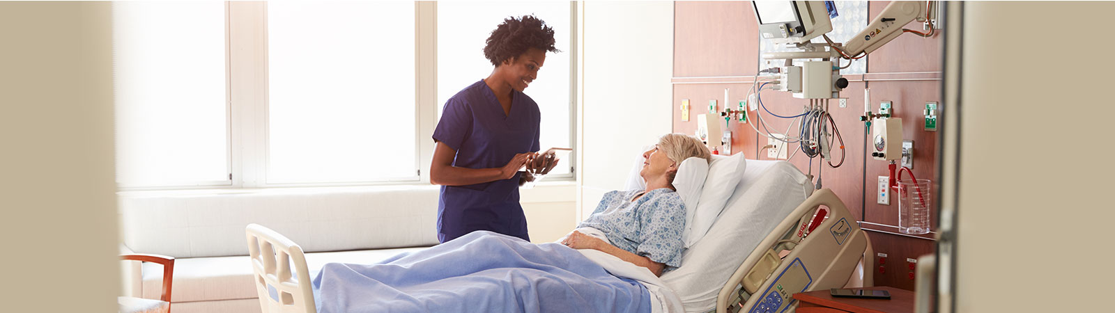 Tablet applications in healthcare solutions