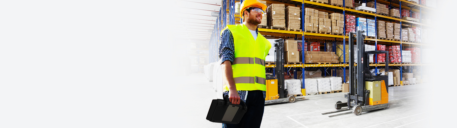 Tablet applications in logistics and warehousing solutions