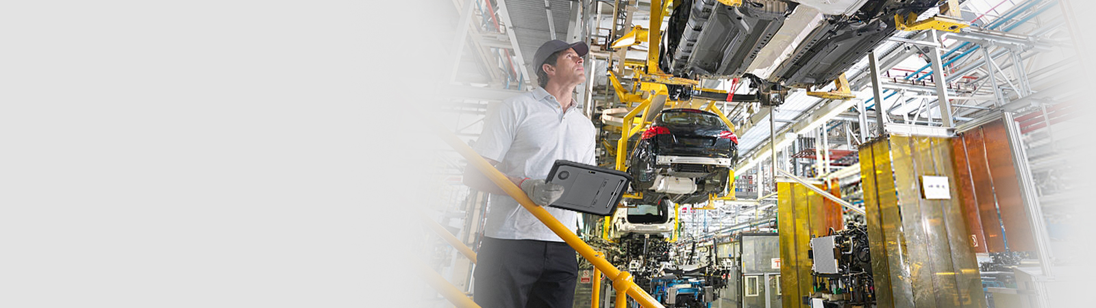 Tablet applications in manufacturing solutions
