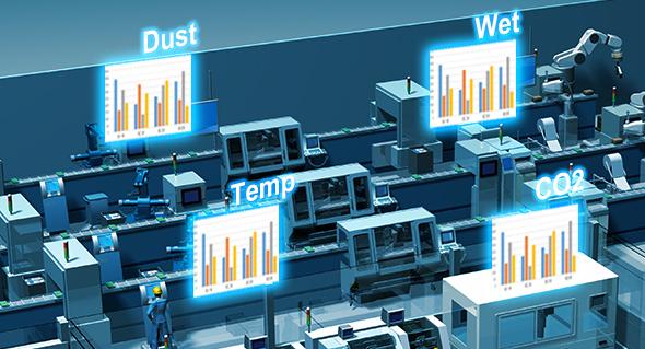 Factory Environmental Monitoring Industry4 0 Advantech