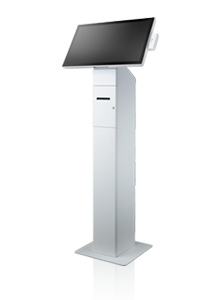 Floor Stand with Thermal Printer