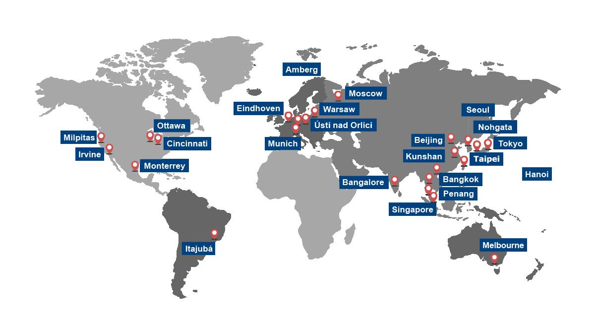 Worldwide Service Networks