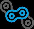 Integração confiável com sistemas existentes através de portas de rede e protocolos de comunicação